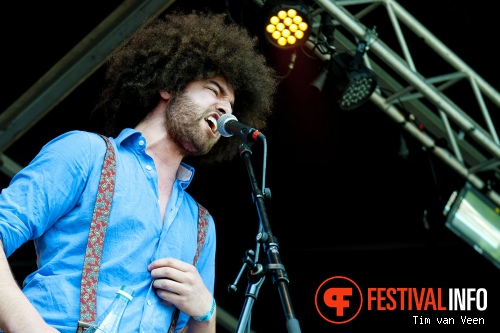 Foto Rilan & The Bombardiers op Bevrijdingsfestival Utrecht 2013