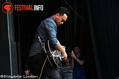 Gers Pardoel op Bevrijdingsfestival Wageningen 2013 foto