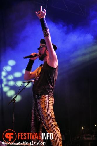 Foto Memphis Maniacs op Bevrijdingsfestival Wageningen 2013