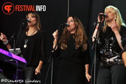 Foto Trijntje Oosterhuis op Bevrijdingsfestival Wageningen 2013