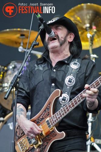 Motörhead op Fortarock 2013 foto