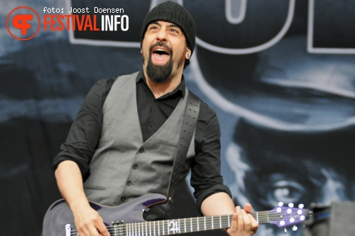 Volbeat op Fortarock 2013 foto