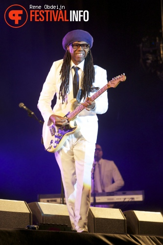 Nile Rodgers & Chic op Retropop 2013 foto
