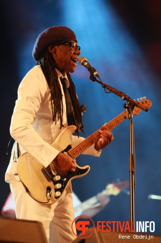 Foto Nile Rodgers & Chic op Retropop 2013