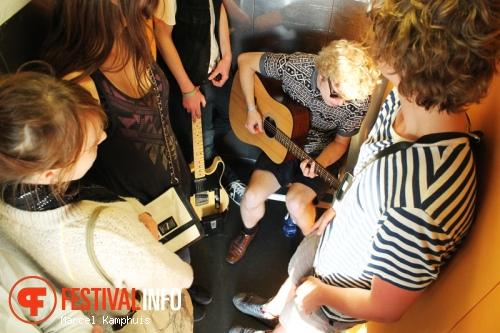 Sam Cuppen op Elevator Sessions 2013 foto