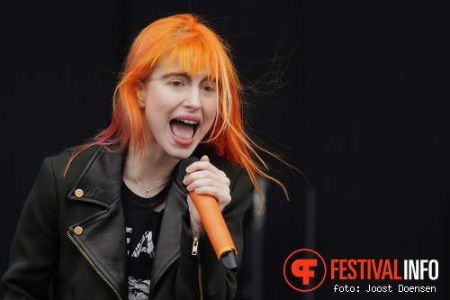 Paramore op Pinkpop 2013 - Vrijdag foto