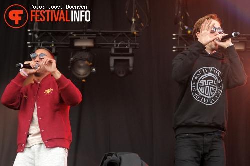 The Opposites op Pinkpop 2013 - Zaterdag foto