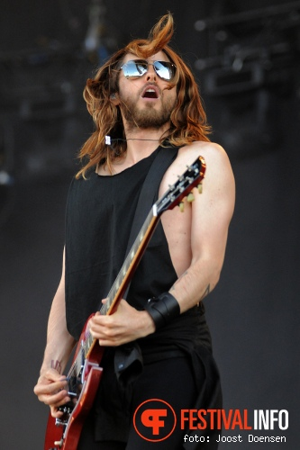 Foto Thirty Seconds to Mars op Pinkpop 2013 - Zaterdag
