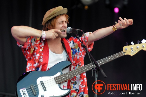Will And The People op Pinkpop 2013 - Zondag foto