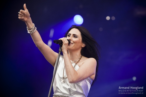 Within Temptation op Indian Summer foto