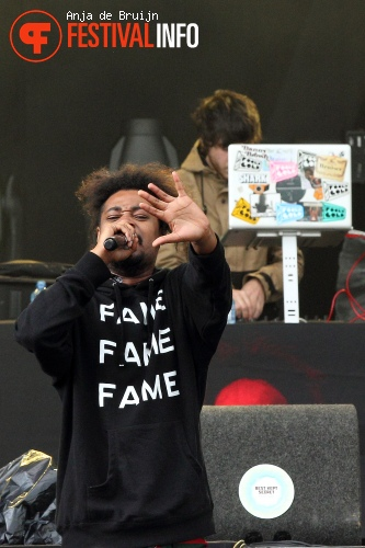 Danny Brown op Best Kept Secret 2013 foto