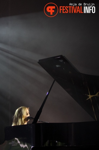 Foto Agnes Obel op Best Kept Secret 2013