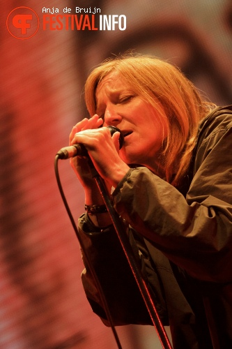 Foto Portishead op Best Kept Secret 2013