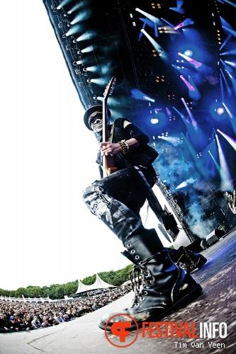 Rockstar op Graspop Metal Meeting 2013 foto