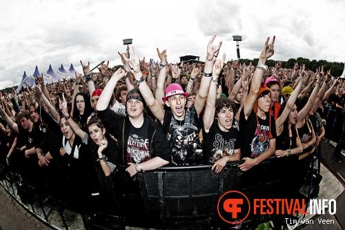 Bullet For My Valentine op Graspop Metal Meeting 2013 foto
