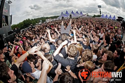 Foto Bullet For My Valentine op Graspop Metal Meeting 2013