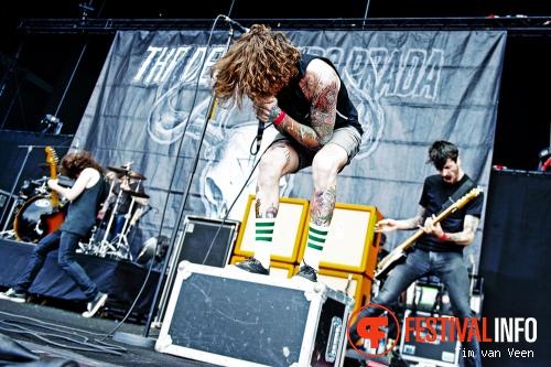 The Devil Wears Prada op Graspop Metal Meeting 2013 foto
