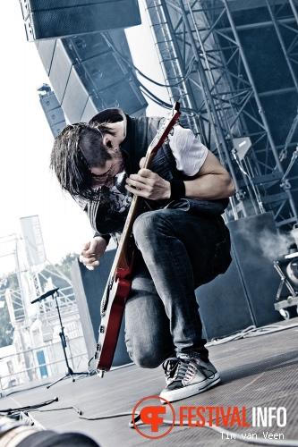 Papa Roach op Graspop Metal Meeting 2013 foto