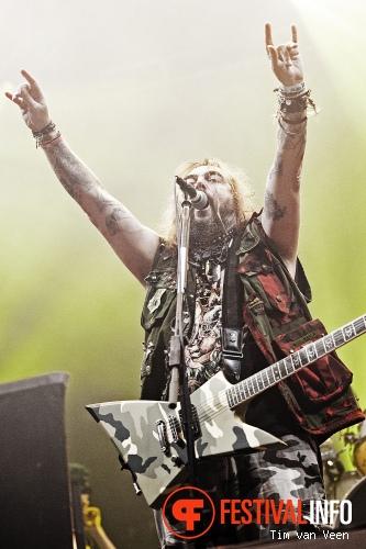Soulfly op Graspop Metal Meeting 2013 foto
