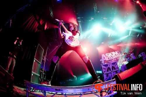 Asking Alexandria op Graspop Metal Meeting 2013 foto