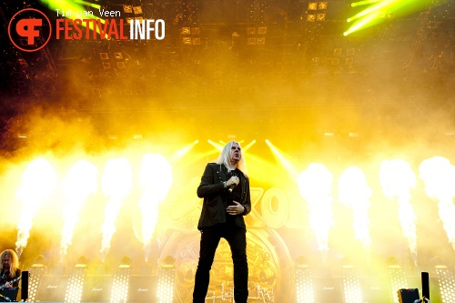 Foto Saxon op Graspop Metal Meeting 2013