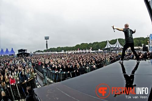 Foto Heathen op Graspop Metal Meeting 2013