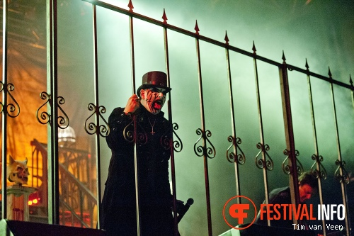 Foto King Diamond op Graspop Metal Meeting 2013