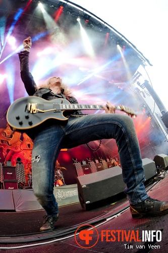 Foto Saxon op Graspop Metal Meeting 2013