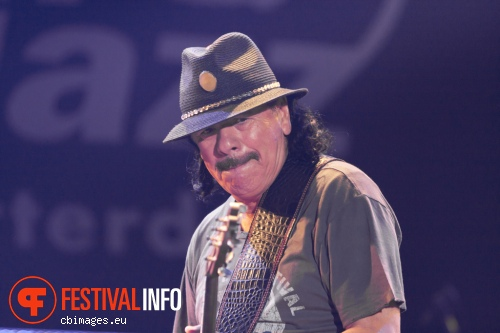 Santana op North Sea Jazz - dag 1 foto