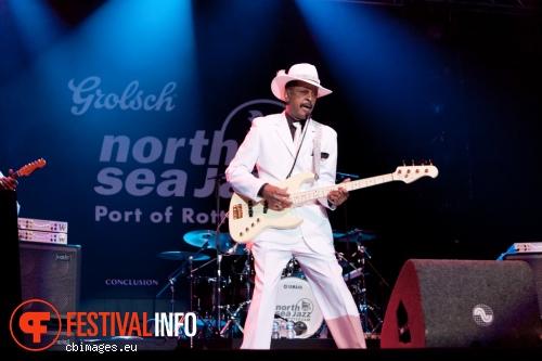 Larry Graham & Graham Central Station op North Sea Jazz - dag 1 foto