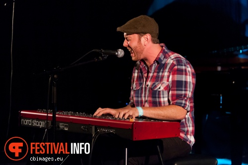 Foto Matt Simons op North Sea Jazz - dag 2
