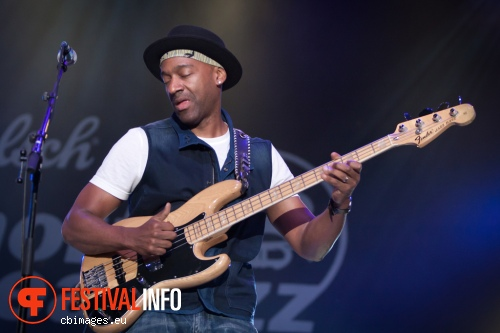 Foto Marcus Miller op North Sea Jazz - dag 3