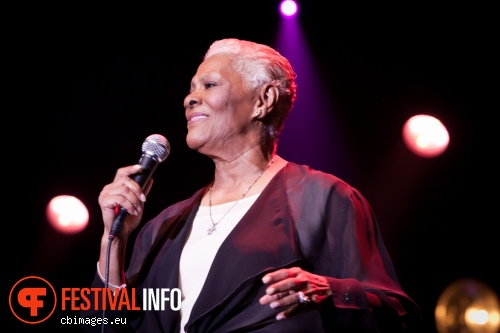 Foto Dionne Warwick op North Sea Jazz - dag 3