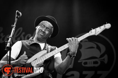 Foto Marcus Miller op North Sea Jazz - dag 3