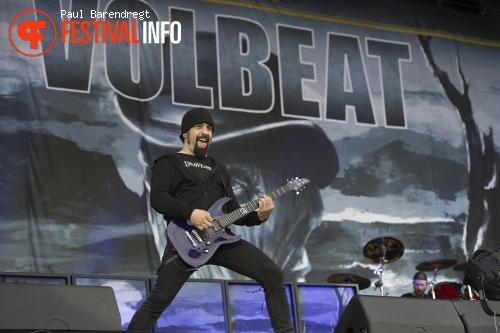 Foto Volbeat op Rock Werchter 2013 - dag 3