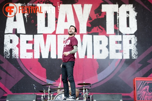 A Day To Remember op Rock Werchter 2013 - dag 4 foto