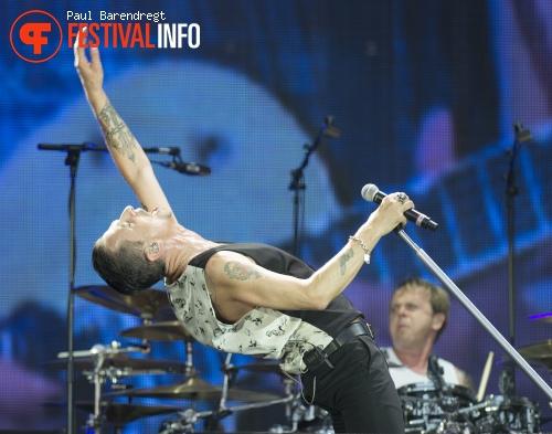 Depeche Mode op Rock Werchter 2013 - dag 4 foto