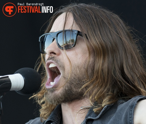 Foto Thirty Seconds to Mars op Rock Werchter 2013 - dag 4