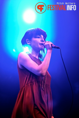 Foto Chvrches op PITCH 2013 - dag 2