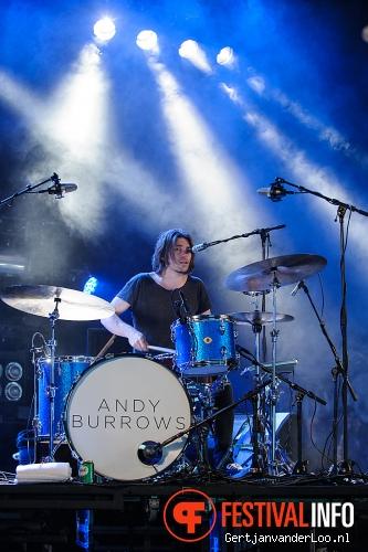 Foto Andy Burrows op Festival deBeschaving 2013
