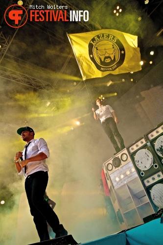 Major Lazer op XO Live 2013 foto