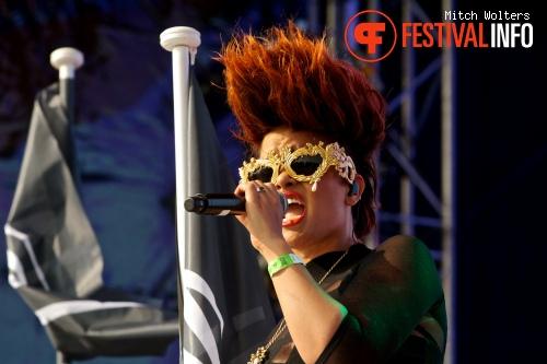 Eva Simons op XO Live 2013 foto