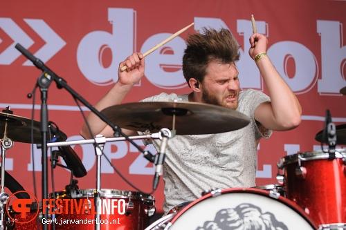 John Coffey op Werfpop 2013 foto