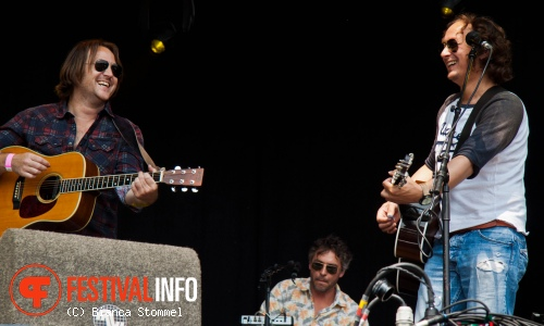 The Dutch Eagles op Bospop 2013 foto