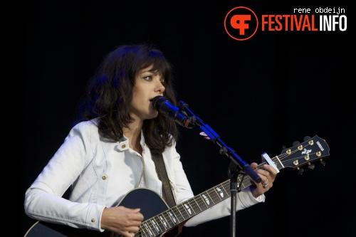 Foto Katie Melua op Suikerrock 2013