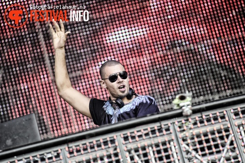 Afrojack op Balaton Sound 2013 foto