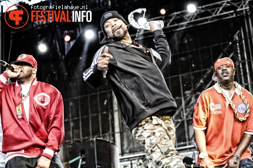 Wu-Tang Clan op Balaton Sound 2013 foto