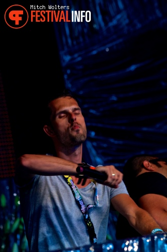 Jacob van Hage op Tomorrowland 2013 foto