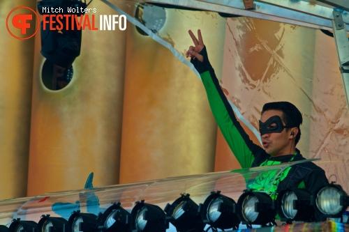 Laidback Luke op Tomorrowland 2013 foto