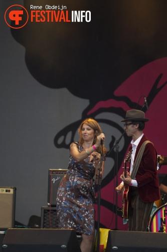 Rick Nolov Band op pinkpop Classic 2013 foto